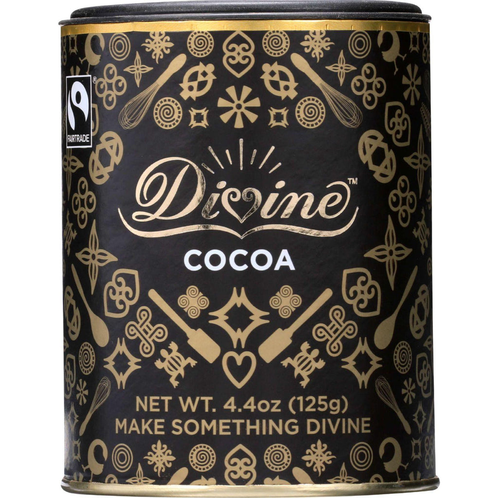 Divine Cocoa Powder - 4.4 Oz - Case Of 12
