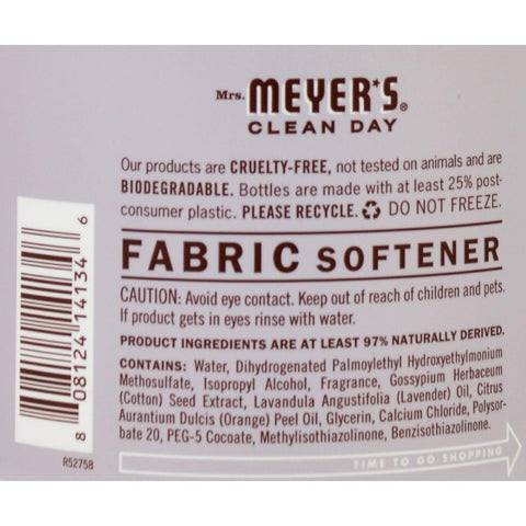 Mrs. Meyer's Fabric Softener - Lavender - 32 Oz