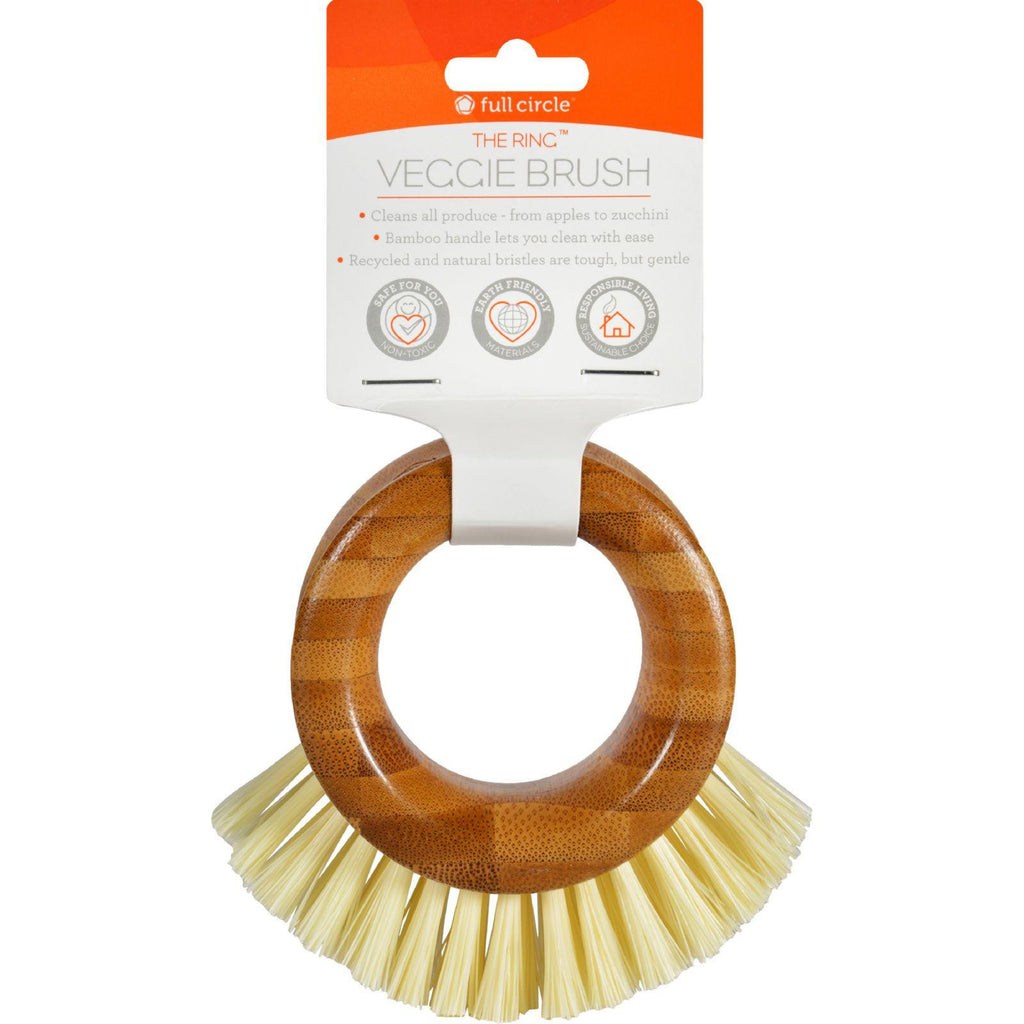 Full Circle Home The Ring Vegetable Brush