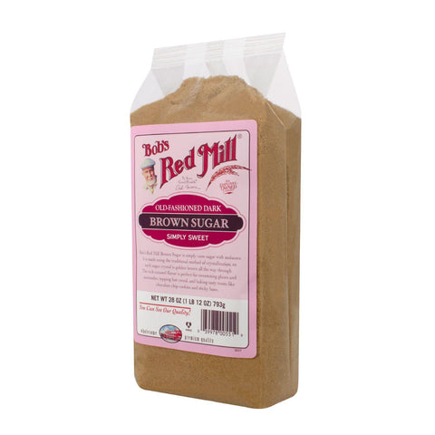 Bob's Red Mill Dark Brown Sugar - 28 Oz - Case Of 4