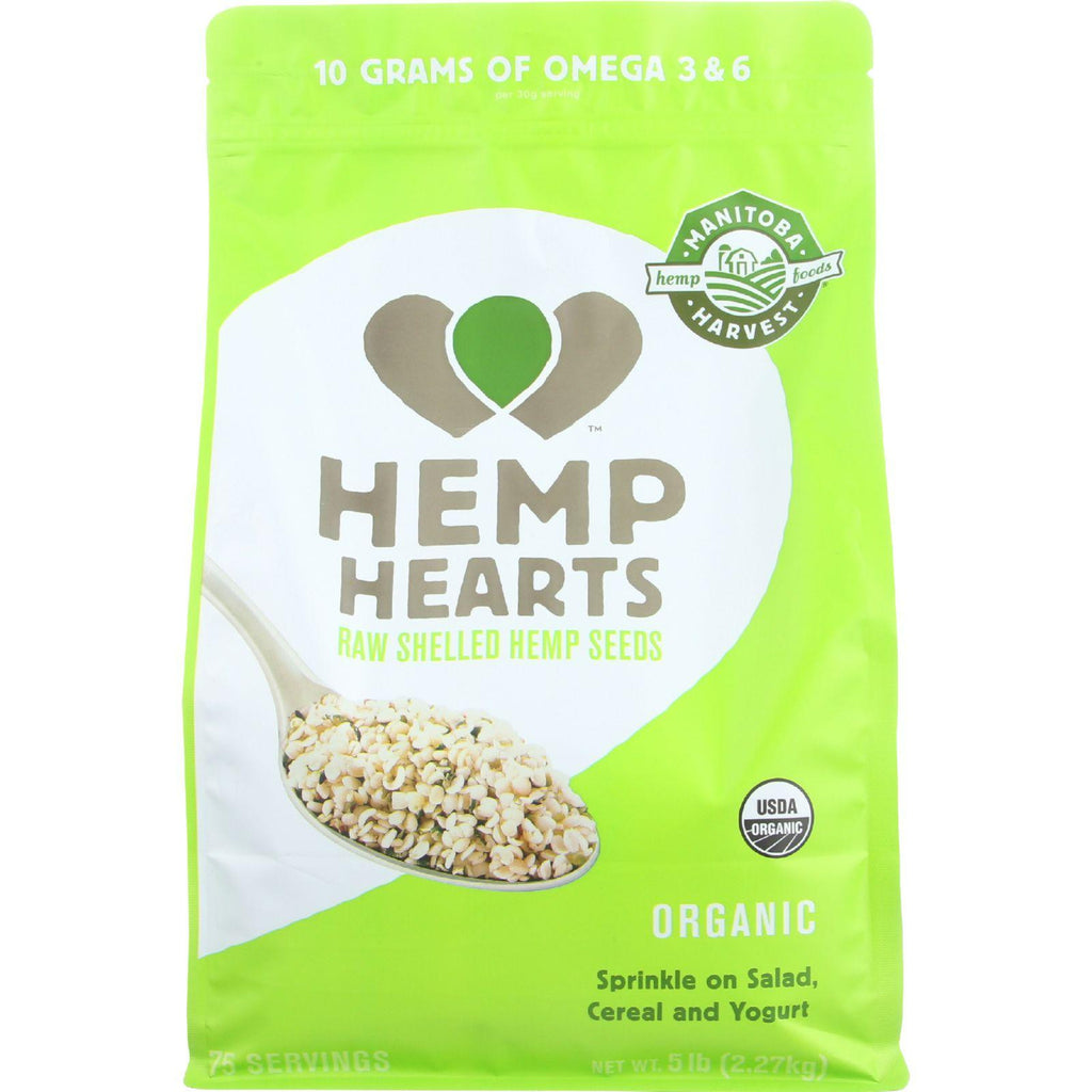 Manitoba Harvest Hemp Hearts - Organic - Shelled - 5 Lb - 1 Each