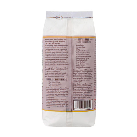 Bob's Red Mill Arrowroot Starch - Flour - 16 Oz - Case Of 4