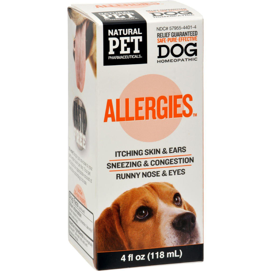 King Bio Homeopathic Natural Pet Dog - Allergies - 5 Oz