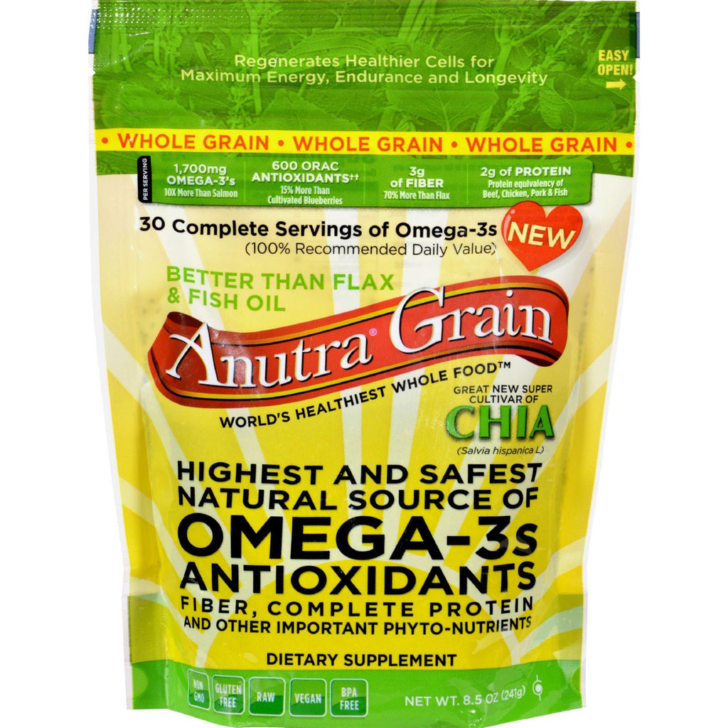 Anutra Omega 3s - Whole Grain - 8.5 Oz