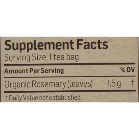 Alvita Tea - Organic - Rosemary Herbal - 24 Tea Bags