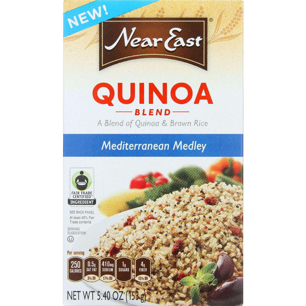 Near East Quinoa Blend - Mediterranean Medley - 5.4 Oz - Case Of 12