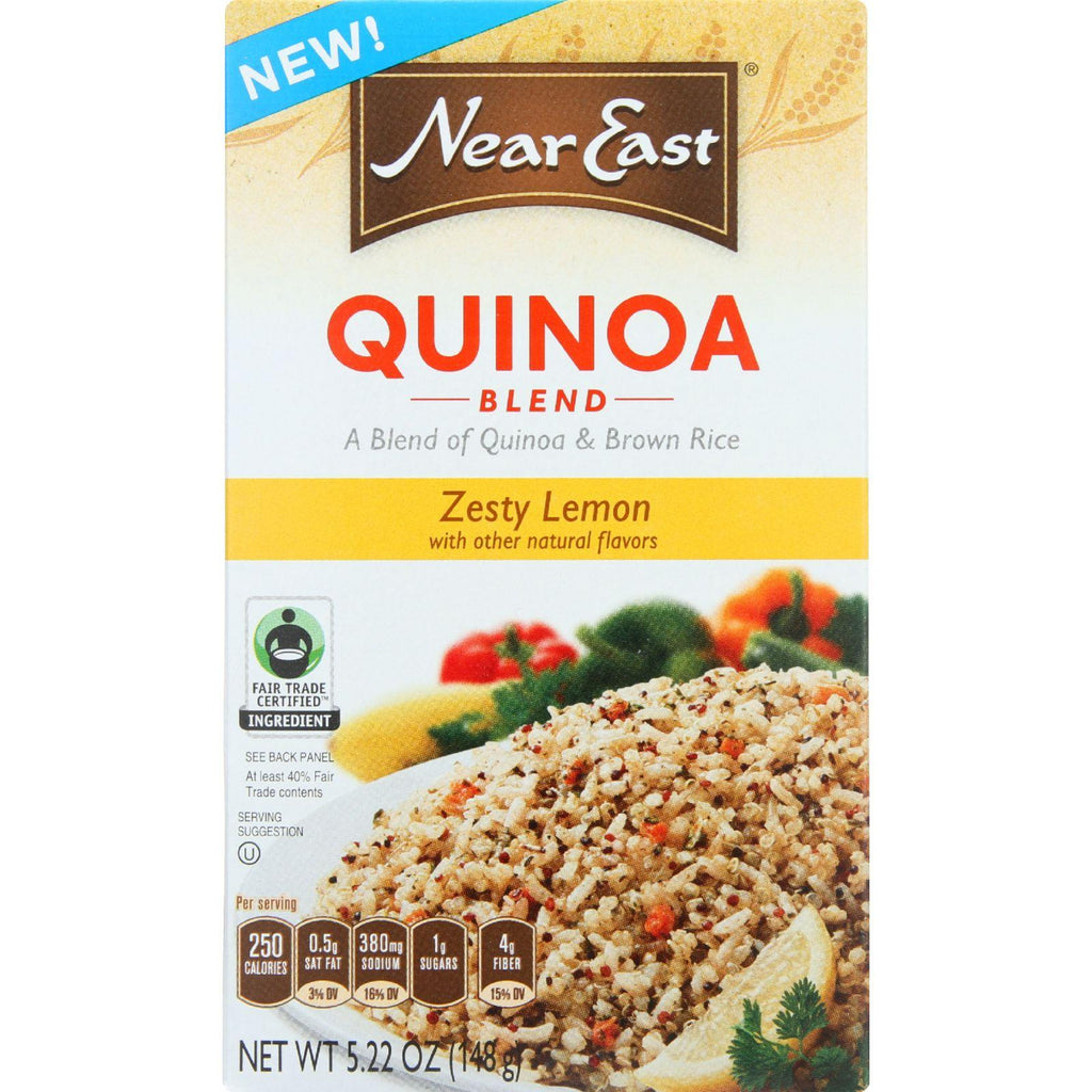 Near East Quinoa Blend - Zesty Lemon - 5.22 Oz - Case Of 12