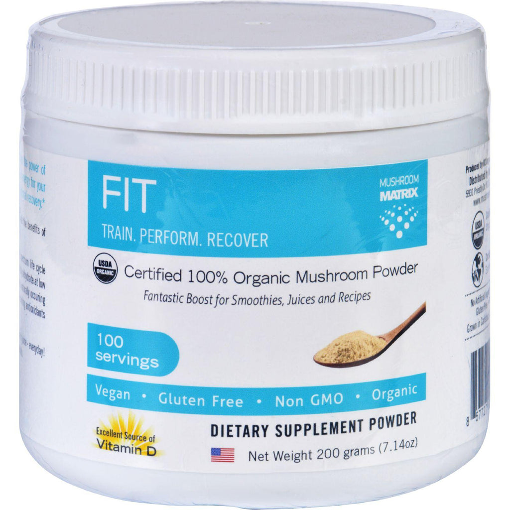 Mushroom Matrix Fit Matrix - Organic - Powder - 7.14 Oz