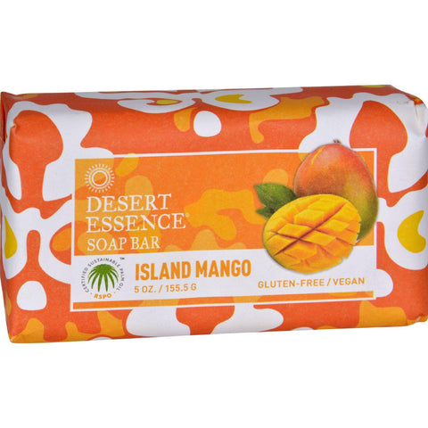Desert Essence Bar Soap - Island Mango - 5 Oz