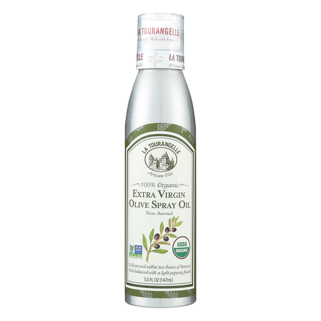 La Tourangelle Extra Virgin Olive Oil Spray - Case Of 6 - 5 Fl Oz.