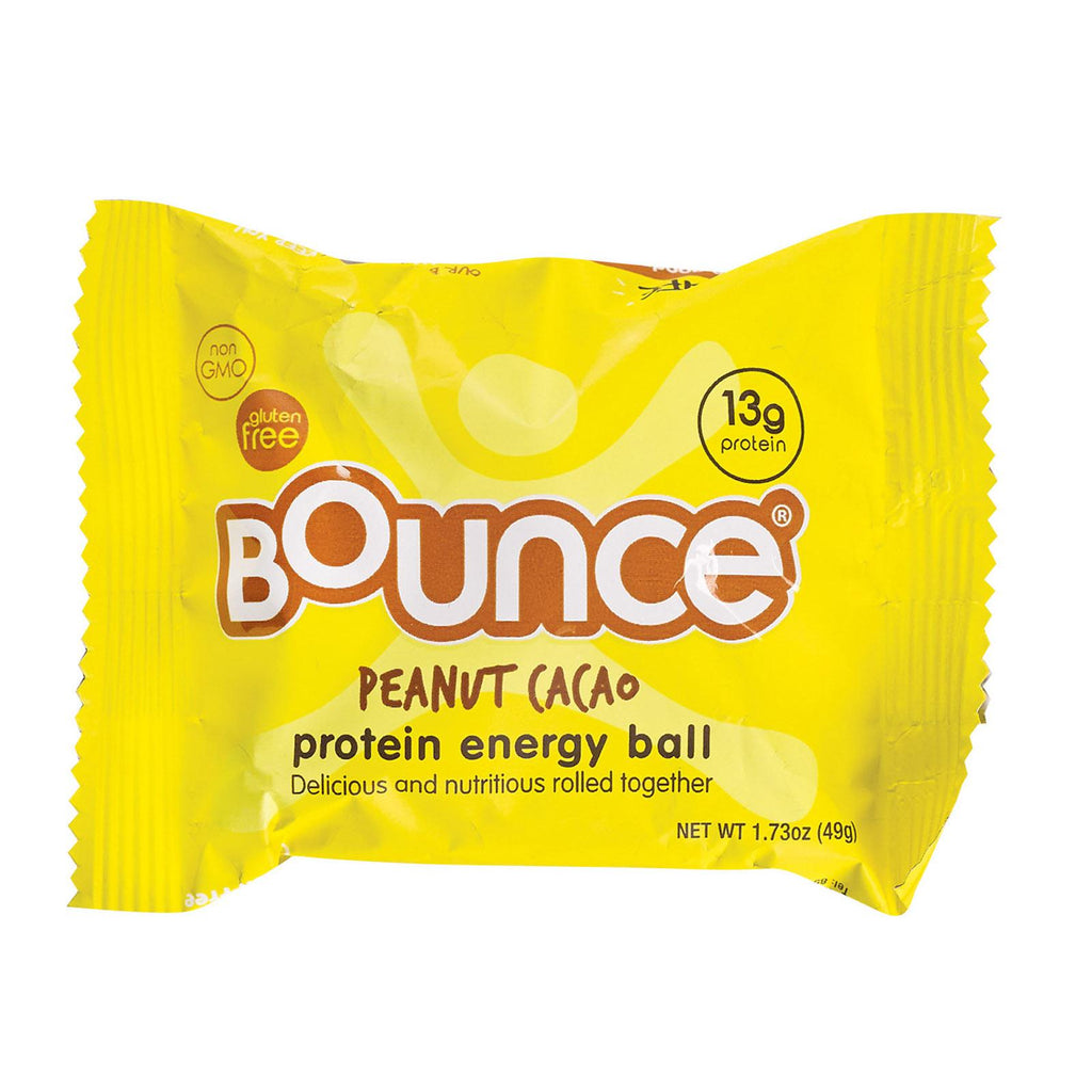 Bounce Energy Balls - Peanut Cacao - Case Of 12 - 1.73 Oz.