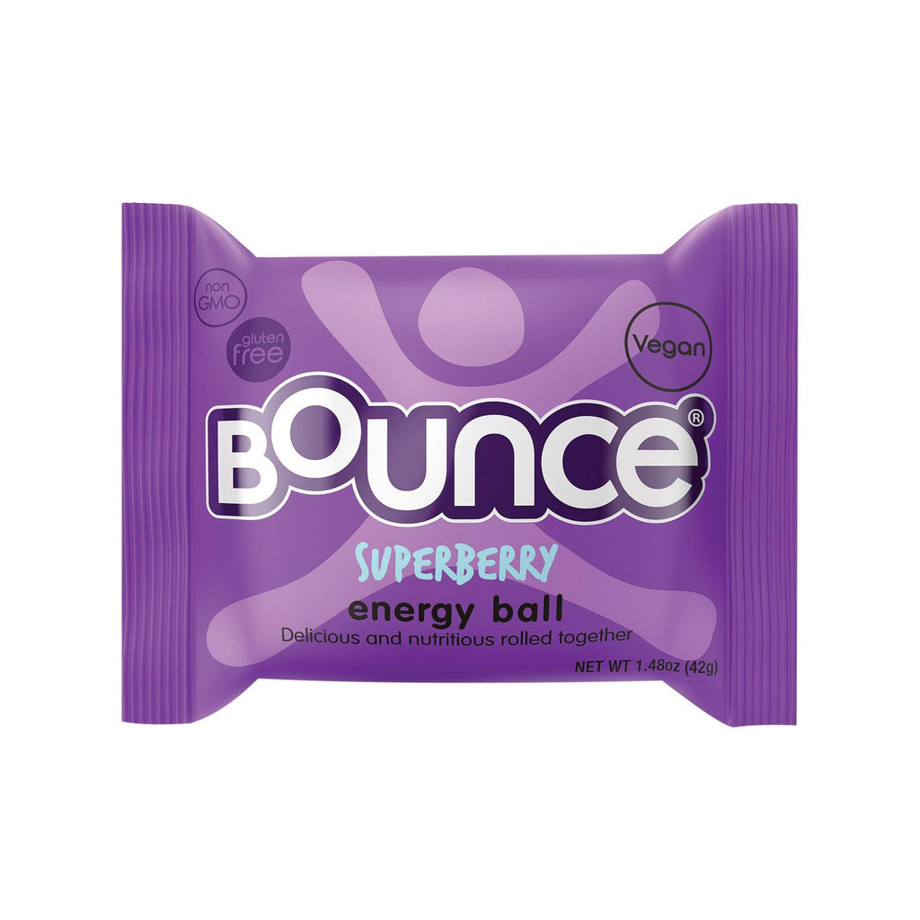 Bounce Energy Balls - Super Berry - Case Of 12 - 1.48 Oz.