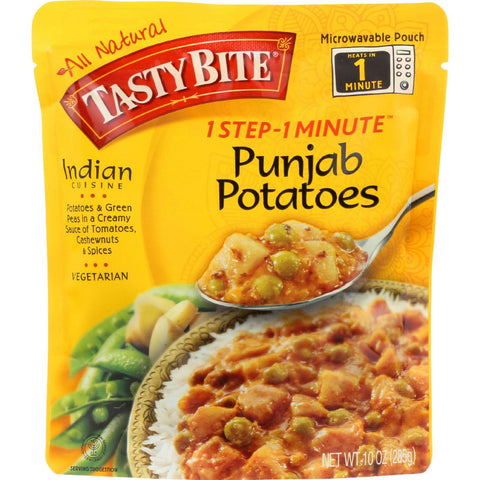 Tasty Bite Entree - Indian Cuisine - Punjab Potatoes - 10 Oz - Case Of 6