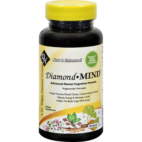 Diamond-herpanacine Diamond Mind - 60 Tablets