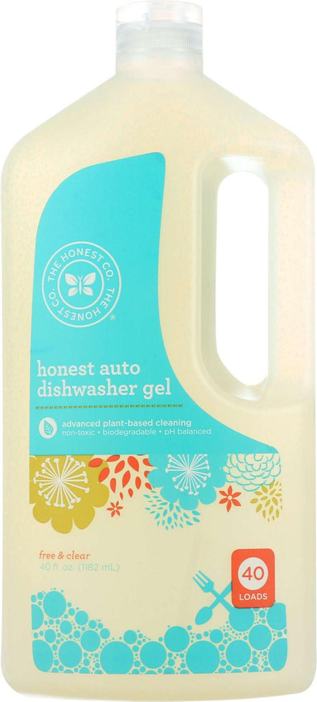 The Honest Company Honest Auto Dishwasher Gel - Free And Clear - 40 Oz
