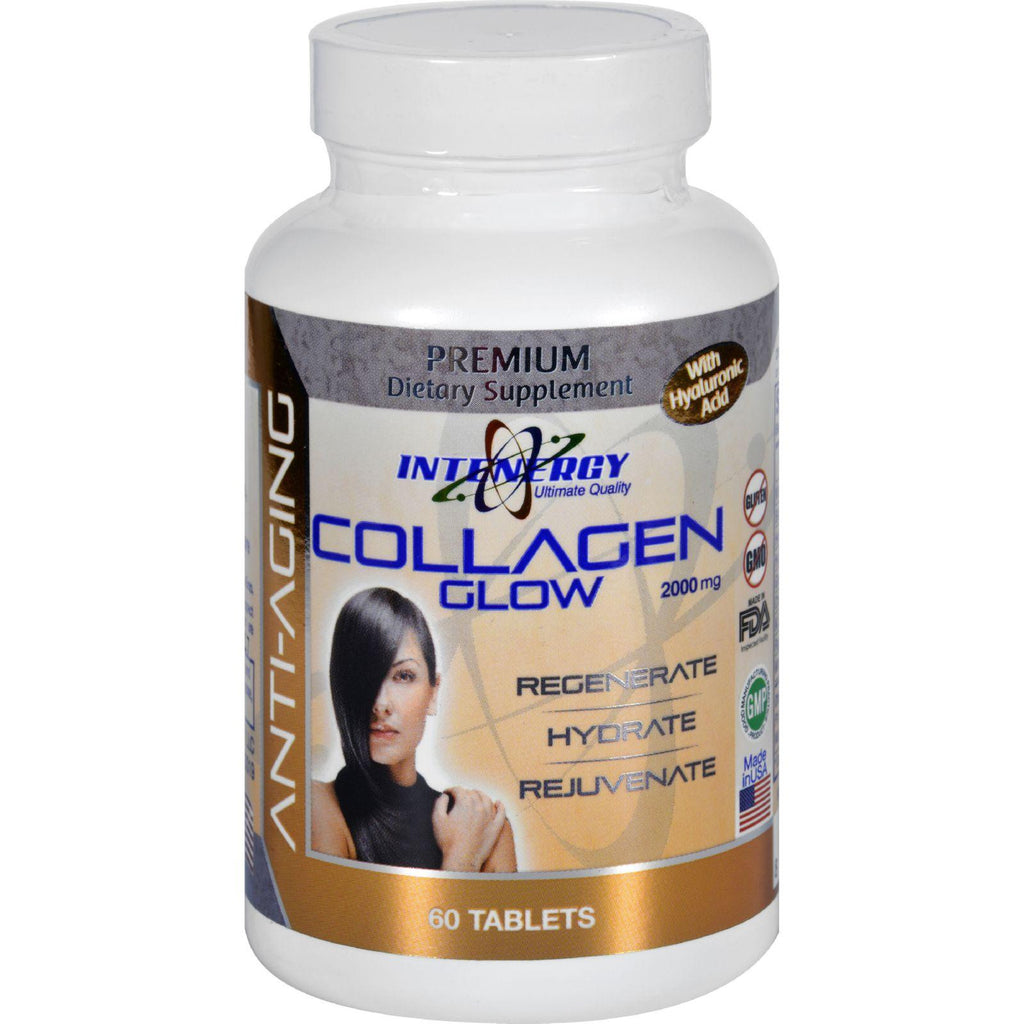 Intenergy Collagen Glow - Hydrolyzed - 60 Tablets