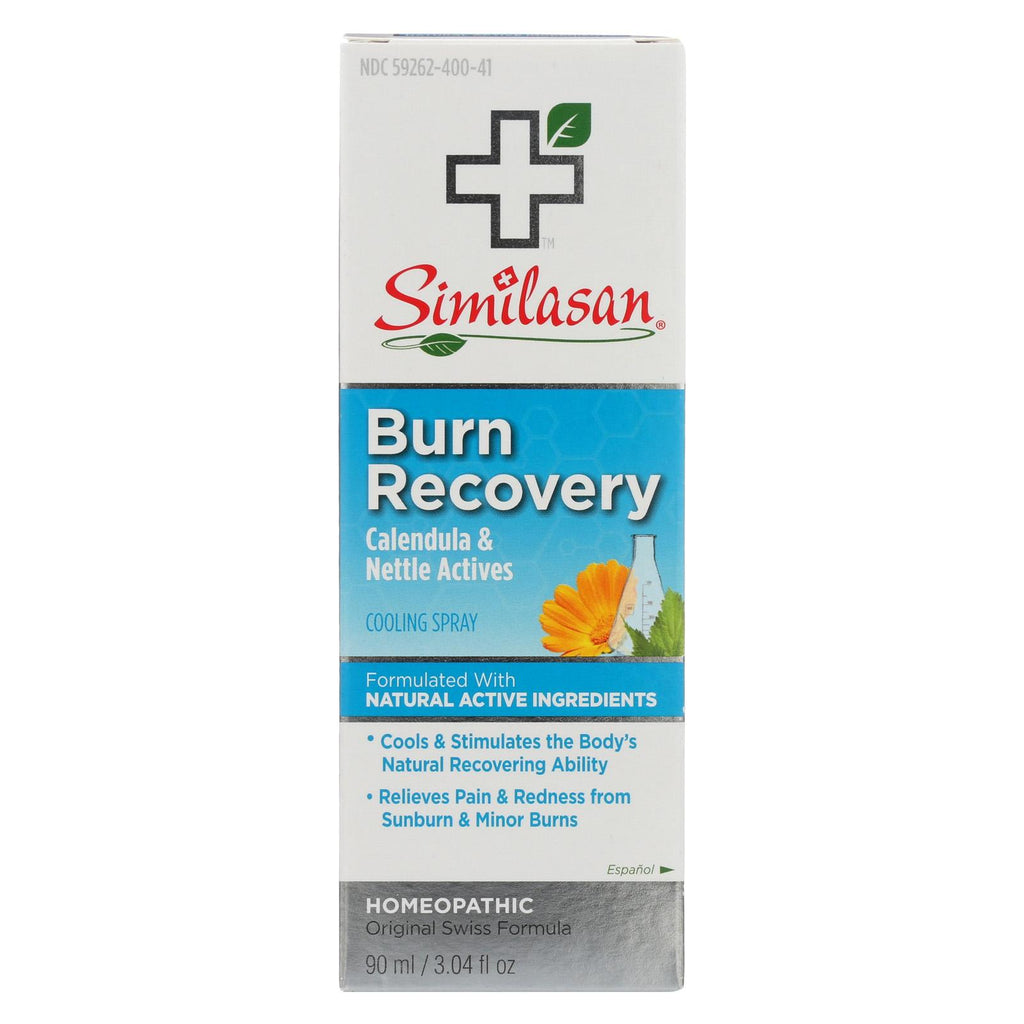 Similasan Burn Recovery Cooling Spray - Case Of 1 - 3.04 Fl Oz.