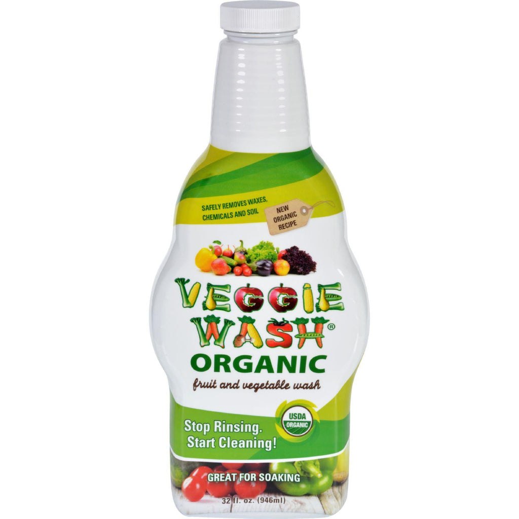Citrus Magic Veggie Wash - Organic - Soaking Size Bottle - 32 Oz