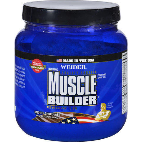 Weider Global Nutrition Muscle Builder - Dynamic - Powder - Chocolate - 1.15 Lb