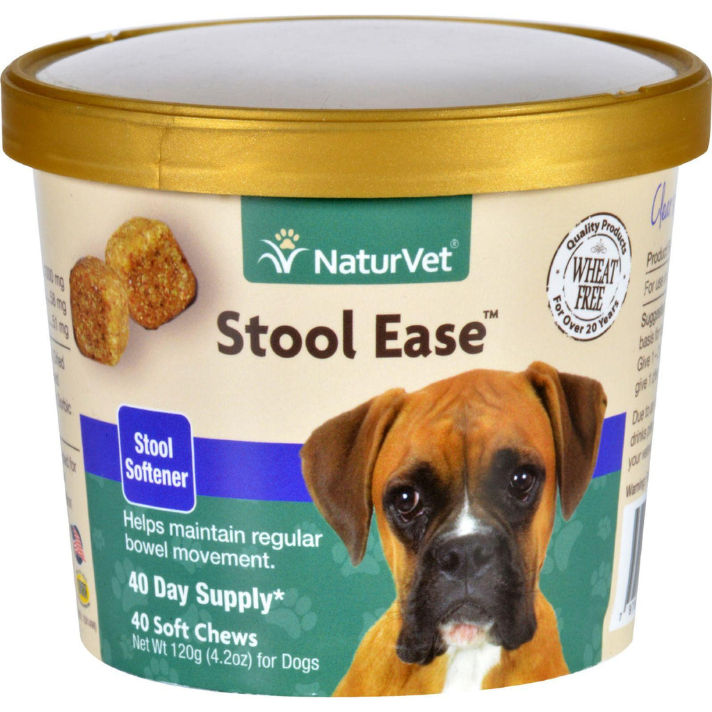 Naturvet Stool Ease - Dogs - Cup - 40 Soft Chews