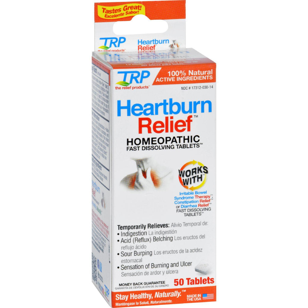 Trp Heartburn Relief - 50 Tablets