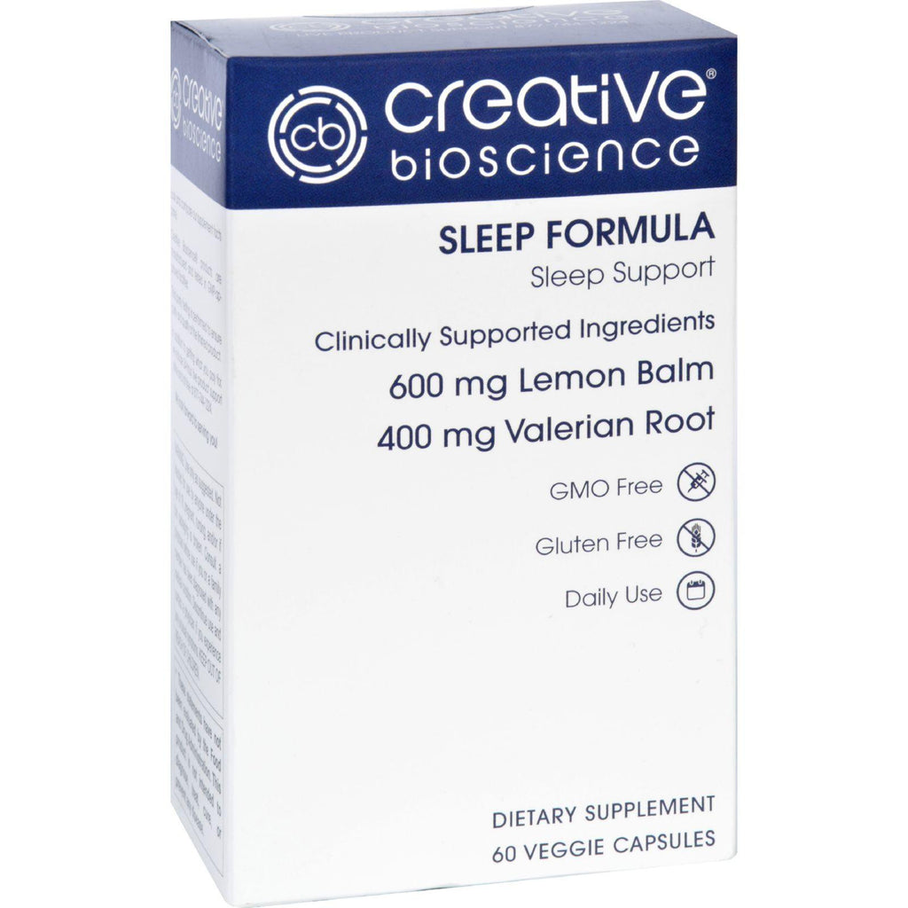 Creative Bioscience Sleep Formula - 60 Vegetarian Capsules