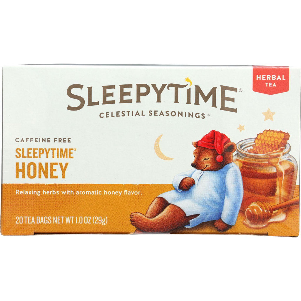 Celestial Seasonings Herbal Tea - Sleepytime - Honey - 20 Bags - Case Of 6