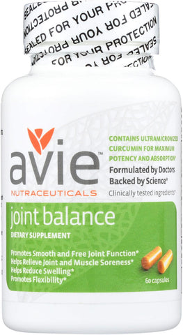 Avie Nutraceuticals Joint Balance - 60 Capsules