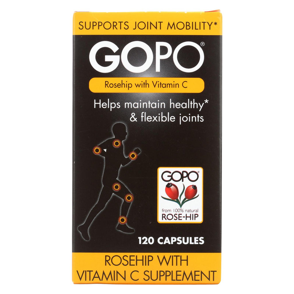 Gopo Joint Health - Rose-hip - W C - 120 Capsules