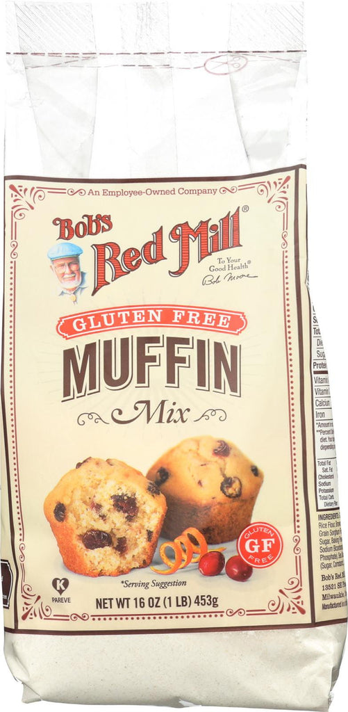 Bob's Red Mill Gluten Free Muffin Mix - 16 Oz - Case Of 4