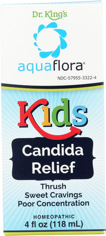 Aquaflora Kids - Candida Relief - 4 Oz