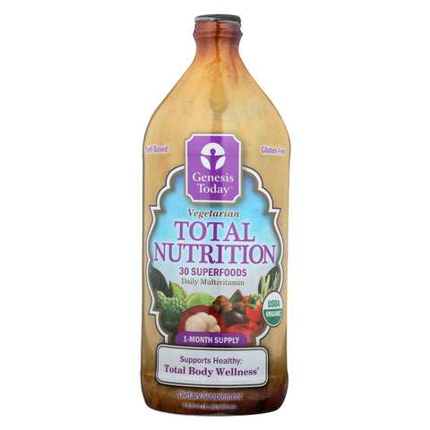 Genesis Today Total Nutrition - Case Of 1 - 32 Fl Oz.