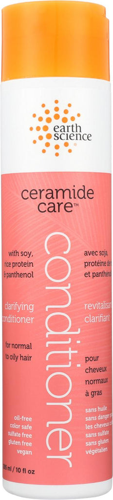Earth Science Ceramide Care Clarifying Conditioner - Case Of 1 - 10 Fl Oz.