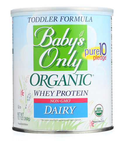 Baby's Only Organic Dairy Formula - Non Gmo - Case Of 6 - 12.7 Oz.
