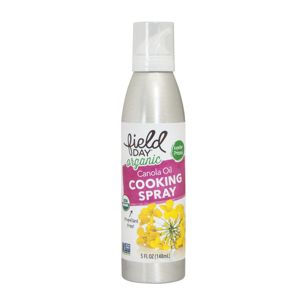 Field Day Organic Canola Oil Cooking Spray - Cooking Spray - Case Of 6 - 5 Fl Oz.