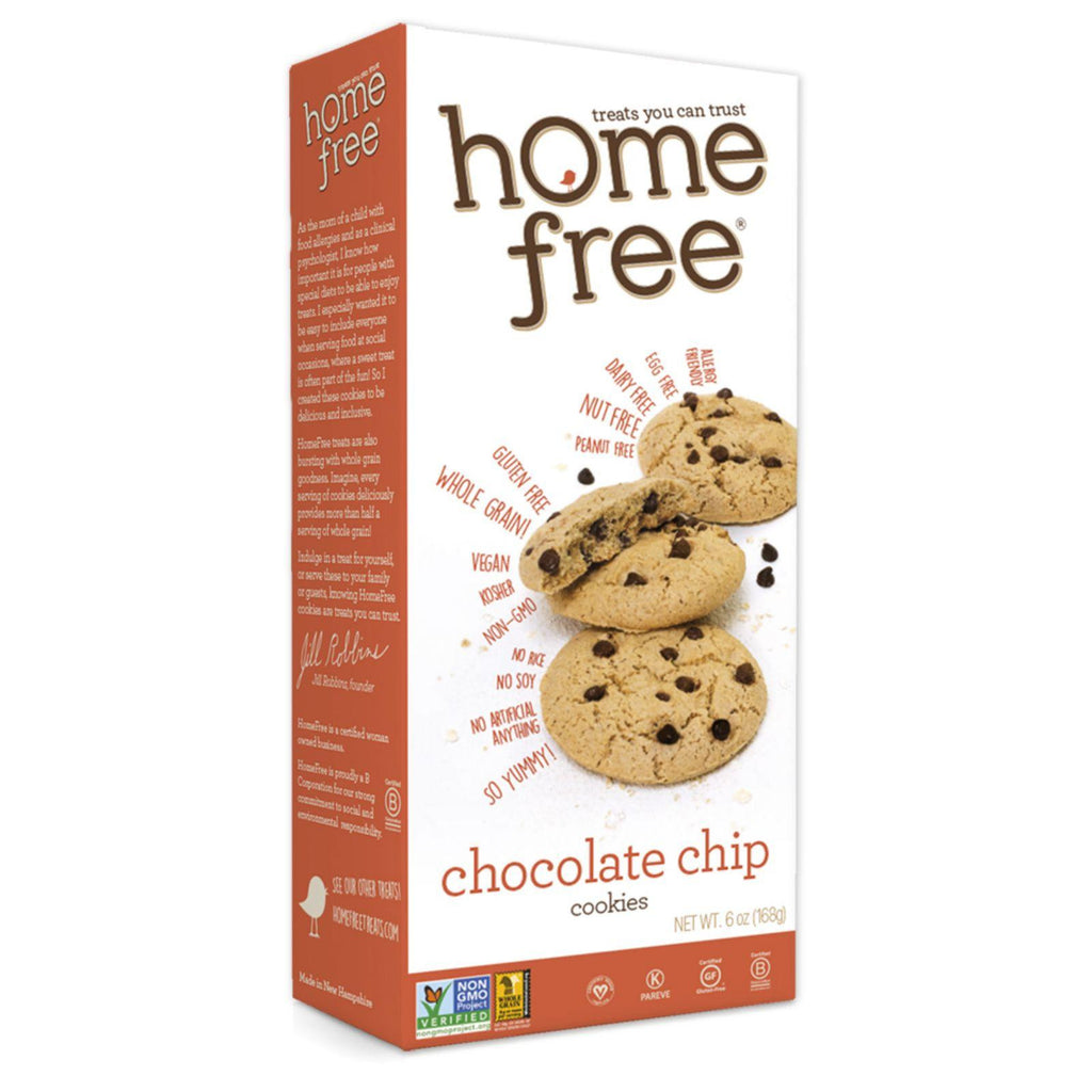 Homefree Gluten Free Chocolate Chip Cookies - 6 Oz - Case Of 6