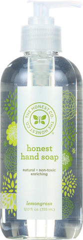 The Honest Company Hand Soap - Lemongrass - Case Of 1 - 11.5 Fl Oz.