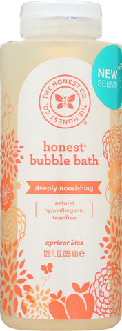 The Honest Company Bubble Bath - Nourishing Apricot Kiss - Case Of 1 - 12 Fl Oz.