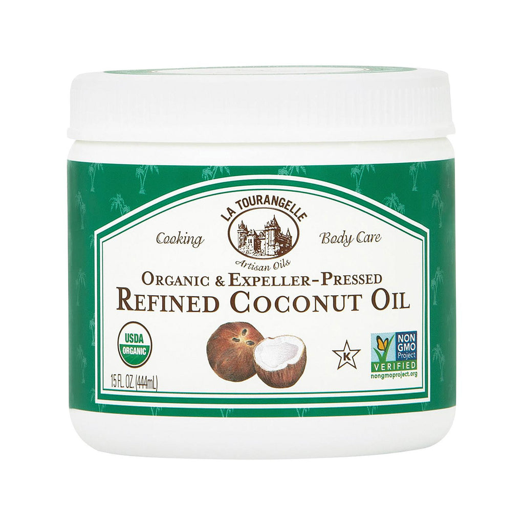 La Tourangelle Refined Coconut Oil - Case Of 6 - 15 Fl Oz.
