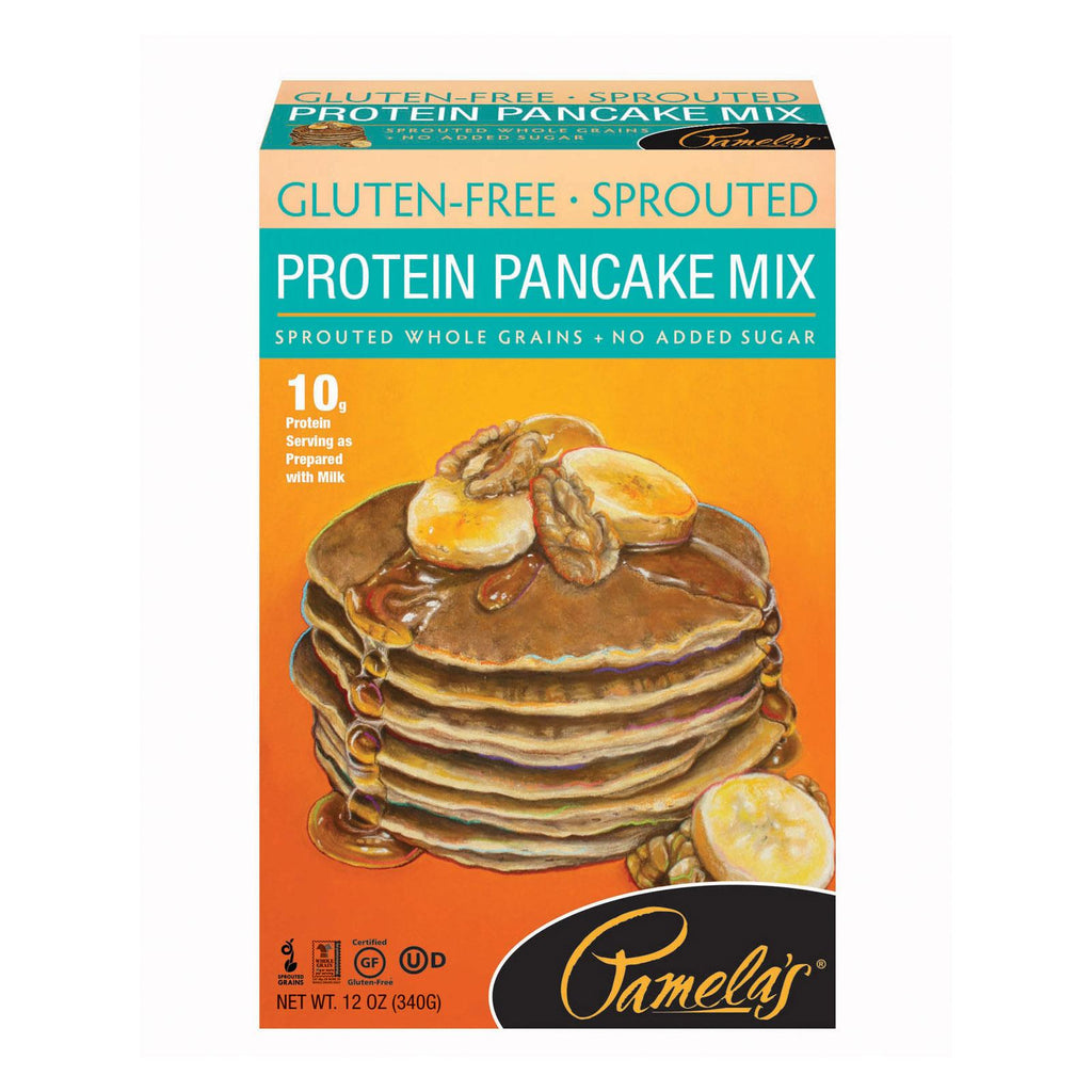 Pamela's Products Pancake Mix - Protein - Case Of 6 - 12 Oz.