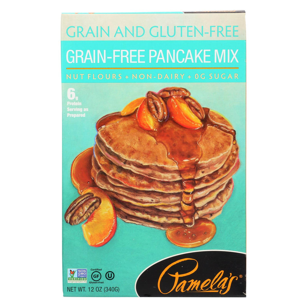 Pamela's Products Grain-free Mix - Pancake - Case Of 6 - 12 Oz.