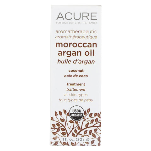 Acure - Argan Oil - Seriously Soothing Coconut - 1 Fl Oz