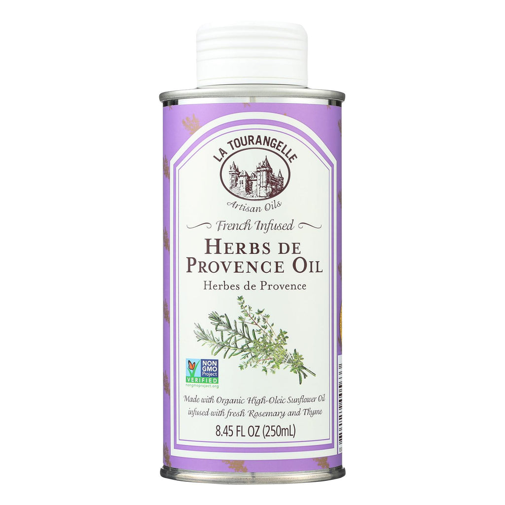 La Tourangelle Herbs De Provence Oil - Case Of 6 - 8.45 Fl Oz.
