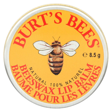 Burts Bees - Lip Balm - Beeswax - Tin - Case Of 36 - 1 Count