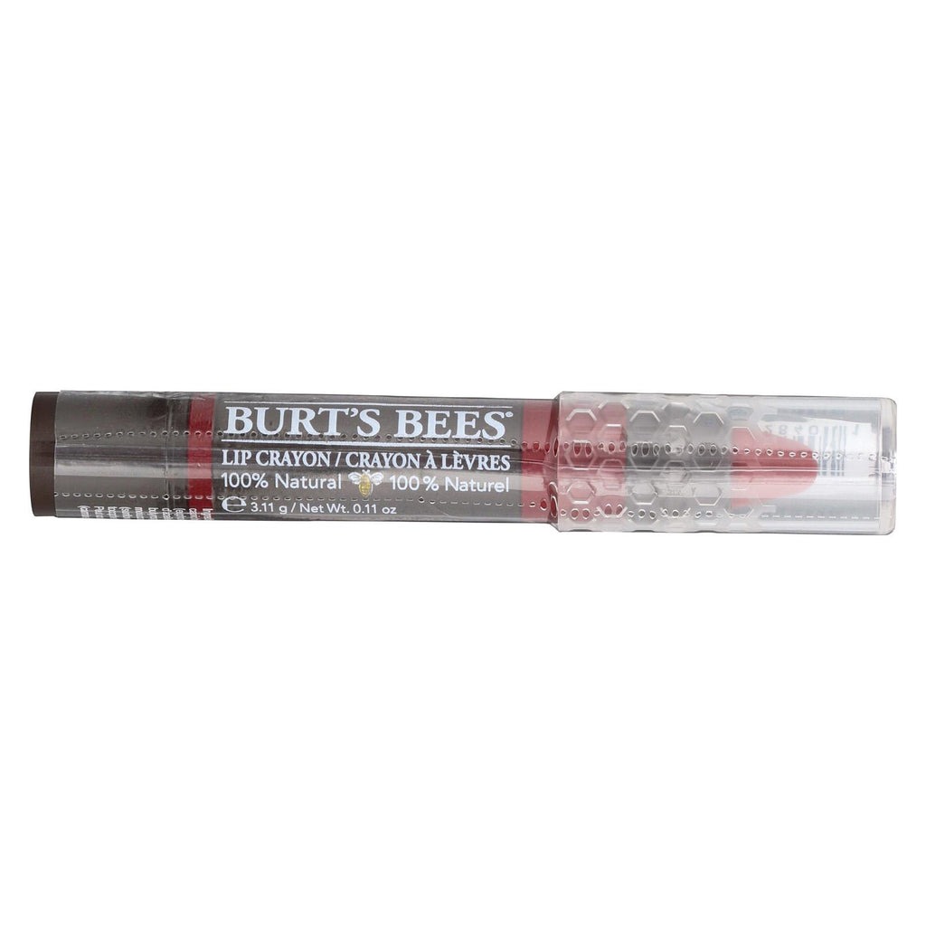Burts Bees Lip Crayon - Redwood Forest - Case Of 3 - 1 Count