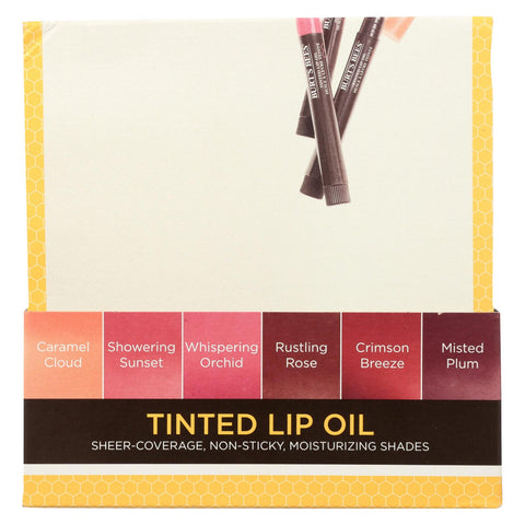 Burts Bees Lip Oil - Tinted - Assorted - 18 Count
