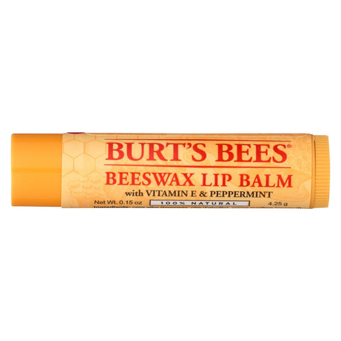 Burts Bees Lip Balm - Beeswax - Tube - - 36 Count