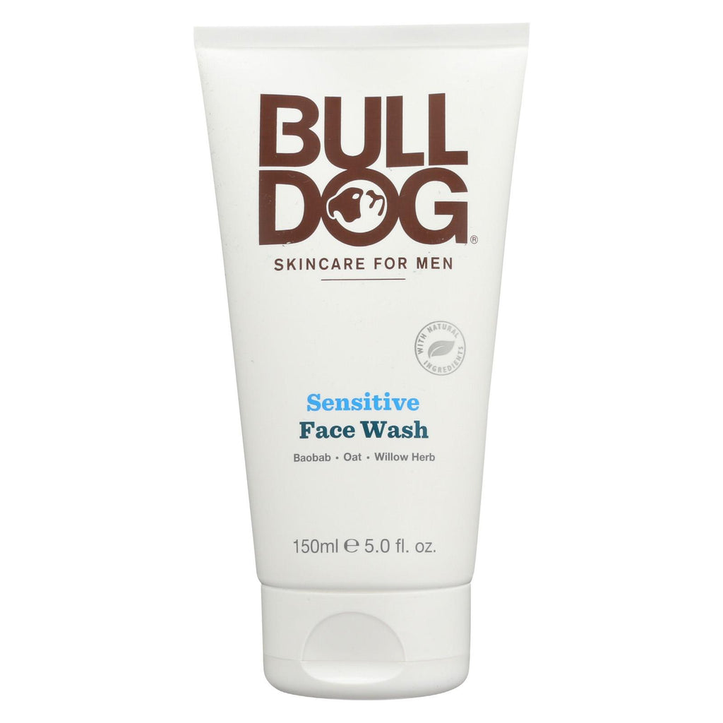 Bulldog Natural Skincare Face Wash - Sensitive - 5 Fl Oz