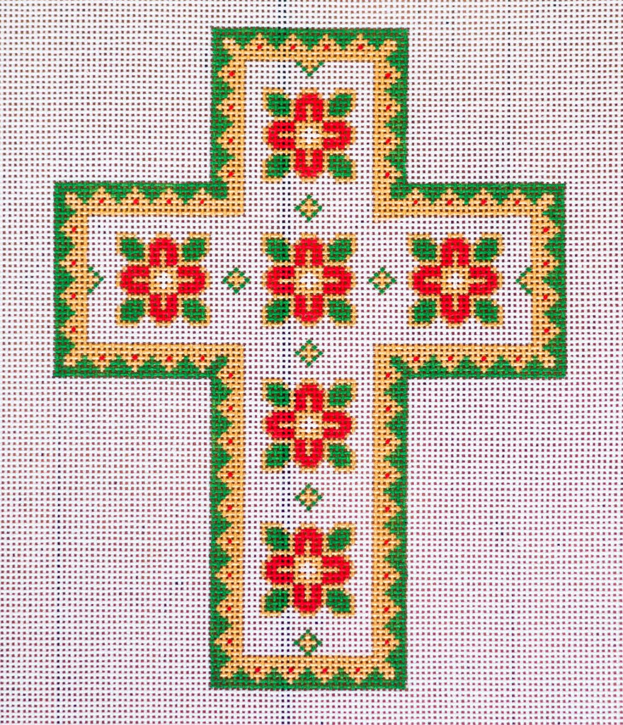Needlepoint Crosses