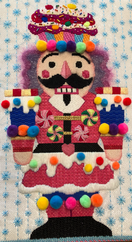 Candy Nutcracker- Raymond Crawford- HO740- Stitch Guide by Mary Ann Davis
